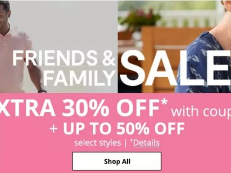 JCPenney 50% Off Sweet Summer Savings + Extra 30% Off