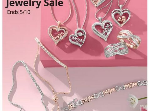 JCPenney Extra 30% Off Mother's Day Jewelry Sale