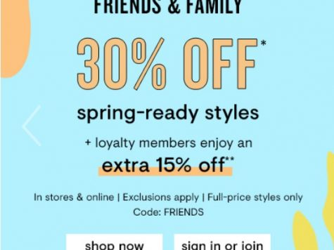 LOFT 30% Off Spring-Ready Styles + Special Offer For Loyalty Members
