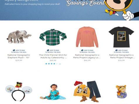 Shop Disney Store Mystery Savings Event