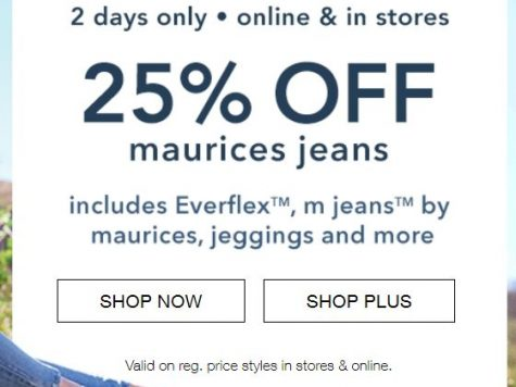 25% OFF Maurices Jeans, Everdlex, m jeans by maurices, jeggings
