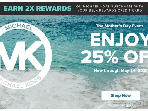 Belk The Mother's Day Event. Enjoy 25% OFF Michael Kors