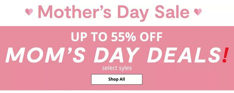 JCPenney Mother's Day Sale Up to 55% off Mom's Day Deals