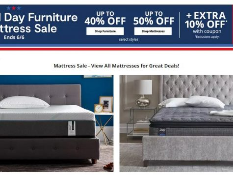 JCPenney Up to 50% Off Furniture And Mattress Sale