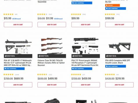 Palmetto State Armory Daily Deals on Guns, Ammo & Parts