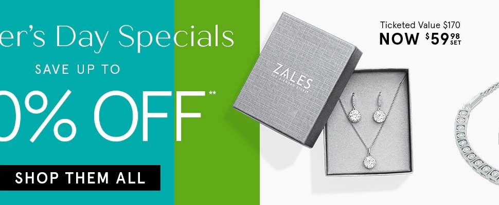 Zales Outlet Mother's Day Specials! 60% Off Sitewide