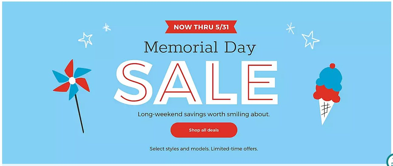 buybuyBaby Up to 50% Off Memorial Day Deals